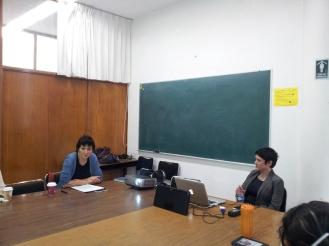 Susana González Aktories y Luz María Sanchez