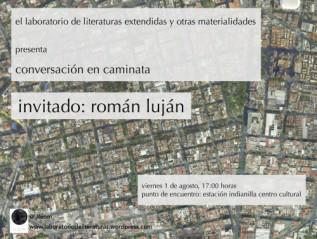 De Balderas a Orizaba: conversación en caminata con RománLuján