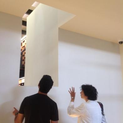 Román Luján y Susana González Aktories. Biblioteca Alí Chumacero, Ciudad de los libros
