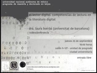 El lector digital. Competencias de lectura en la literaturadigital