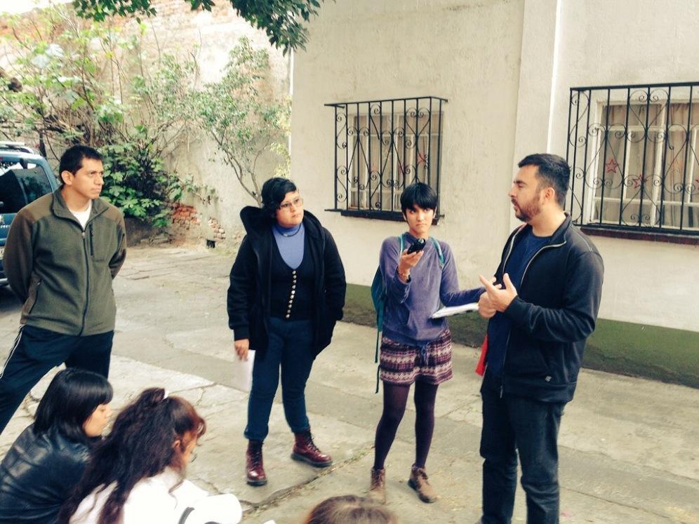 Israel Martínez explica la producción del fanzine 'Voces'