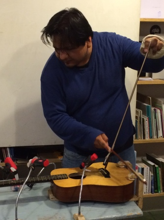 Fernando Vigueras, guitarra extendida, Seminario Itinerante III