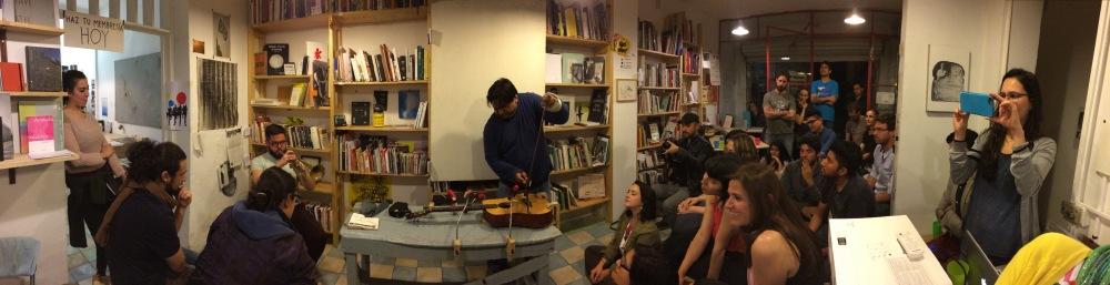 Fernando Vigueras, Seminario Itinerante III, lleom