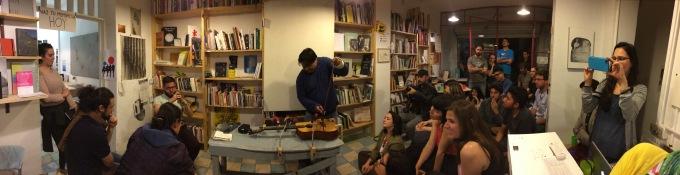 Seminario Itinerante. Sesión III | Trazos y partituras. Leer el sonido (dentro y fuera) de lapágina