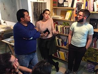 Fernando Vigueras, Cinthya García Leyva y Jacob Wick, Seminario Itinerante III, lleom