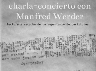 charla-concierto con ManfredWerder